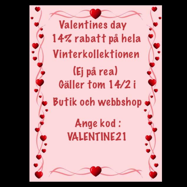Valentine rabatt!!